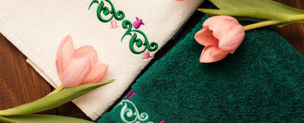 полотенца с татарским узором