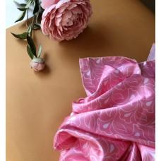 Платок татарский розовый