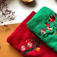 Полотенце с татарской вышивкой 70х140