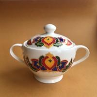 Татарская сахарница с узором