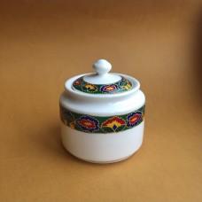 Сахарница с татарским узором