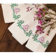 Полотенце c татарской вышивкой 31х52