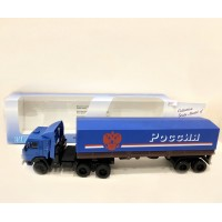 Модель КАМАЗ-5410 синяя