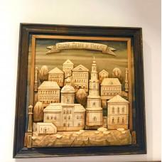 "Картина из дерева ""Собор Петра и Павла"""