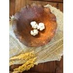 Блюдо-фруктовница глиняное 32 см