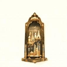 """Картина-панно """"Кремль и башни"""" в рамке"""