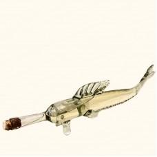 Фигурная бутылка-рыба