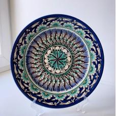 Тарелка декоративная узбекская роспись