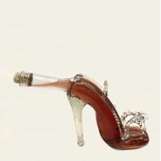 Фигурная бутылка-туфля