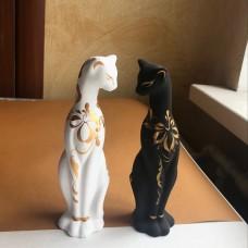 Кот глиняный 20 см