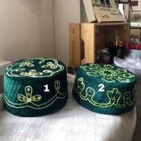 Тюбетейка зеленая 58