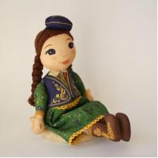Кукла-татарка Зарифа музыкальная