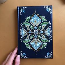 Ежедневник из эко-кожи с татарской росписью
